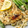 INDIAN-SPICED CHICKEN OR LAMB ASPARAGUS